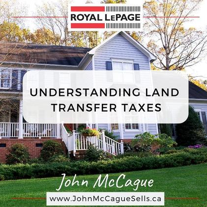 UNDERSTANDING LAND TRANSFER TAXES